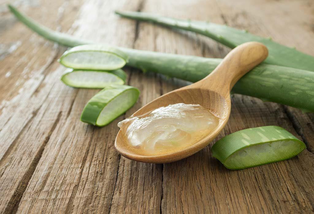 Freshly Extracted Aloe Vera Gel