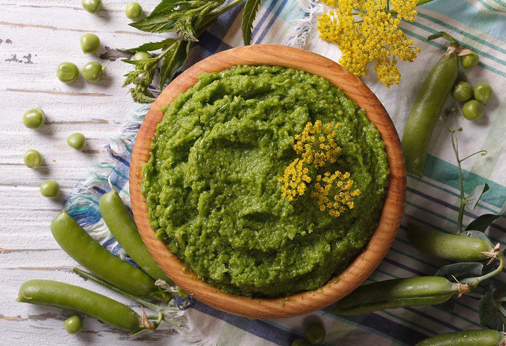 Green beans puree