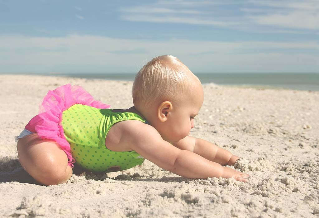 your baby will be crawling faster than before