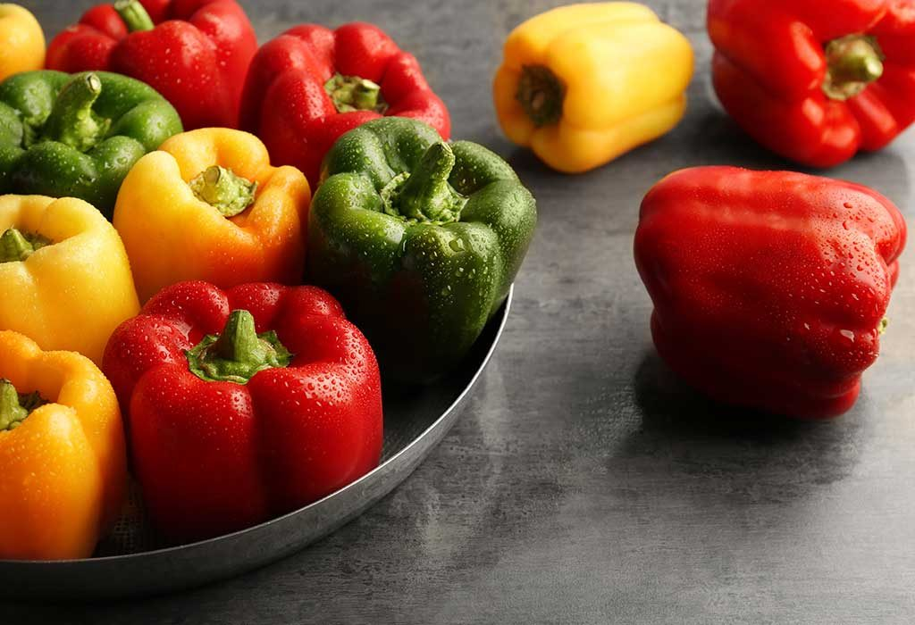 Peppers in the summer